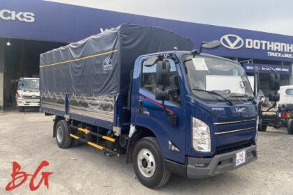 Xe tải IZ650 thùng mui bạt xanh