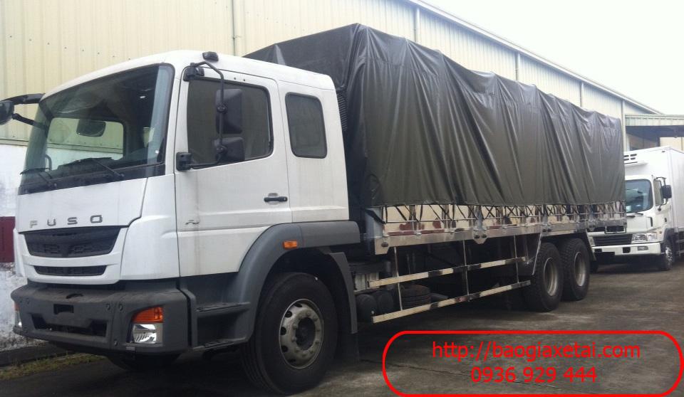 xe tải Fuso FJ24R thùng mui bạt