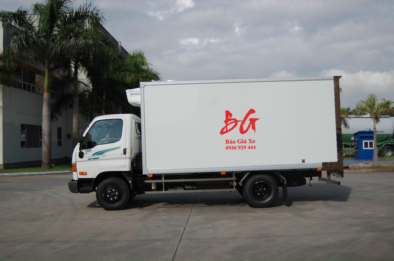 xe tải 3.5 tấn Hyundai 75S thùng đông lạnh