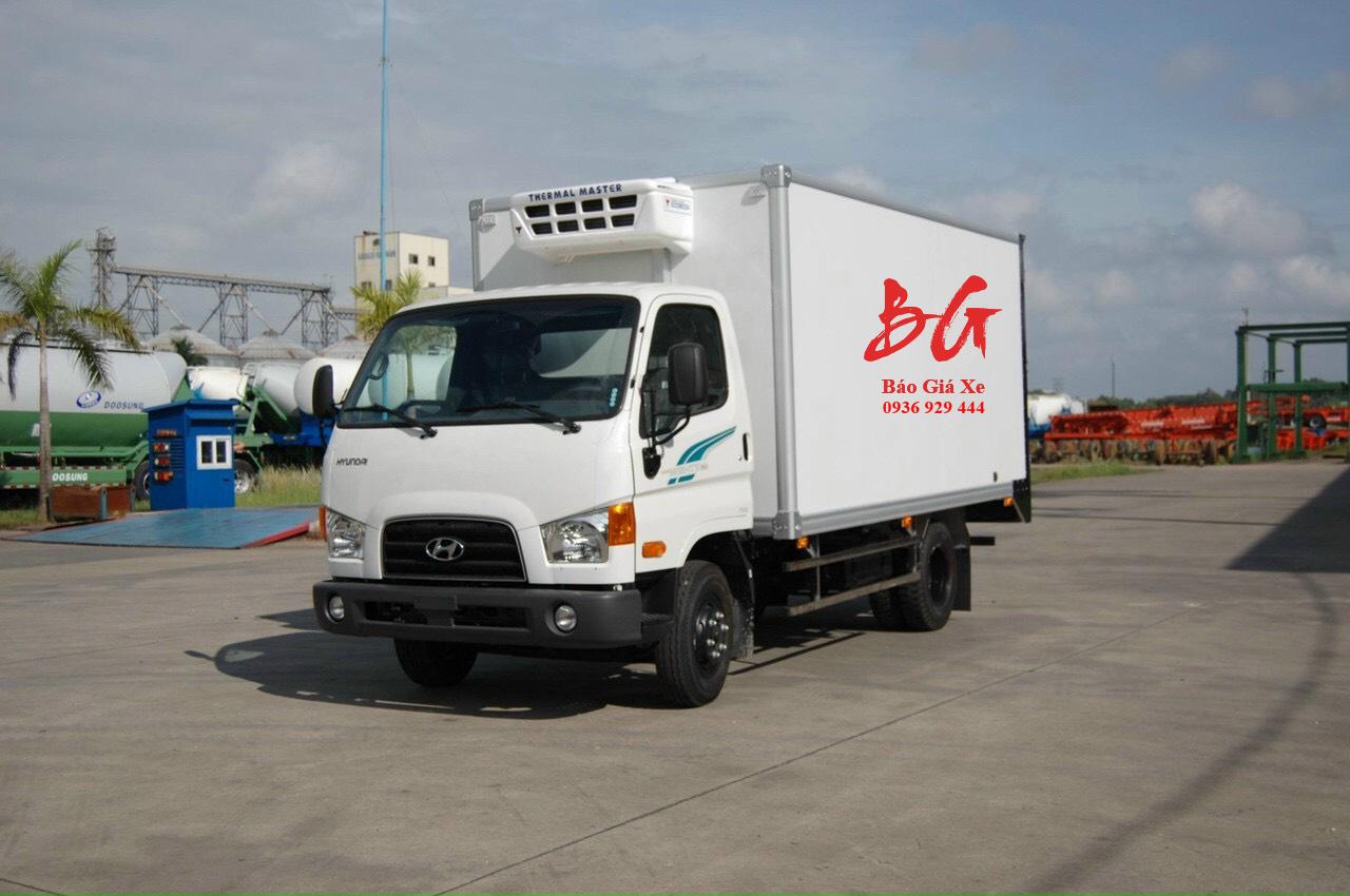 Xe tải đông lạnh 3.5 tấn Hyundai Mighty 75S