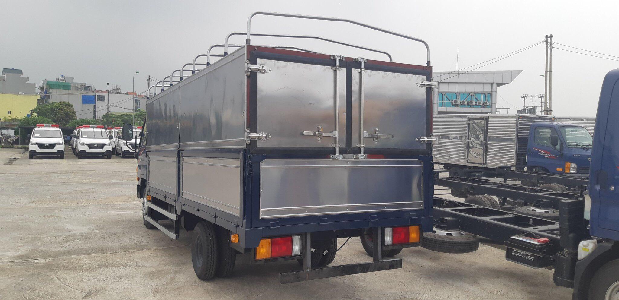 Thùng bạt xe tải Hyundai N250 SL