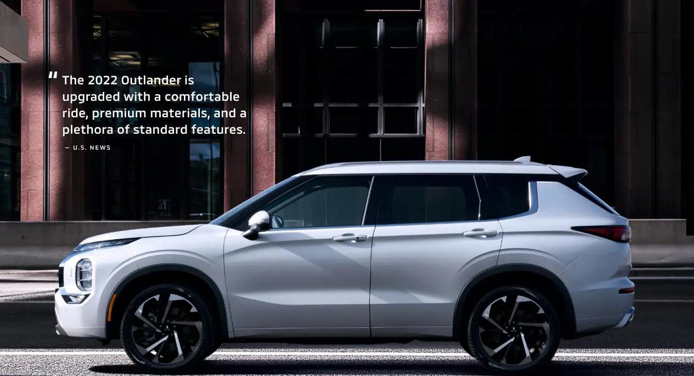 Mitsubishi Outlander 2022 nâng cấp cảm giác lái, vật liệu cao cấp, và tính năng hiện đại