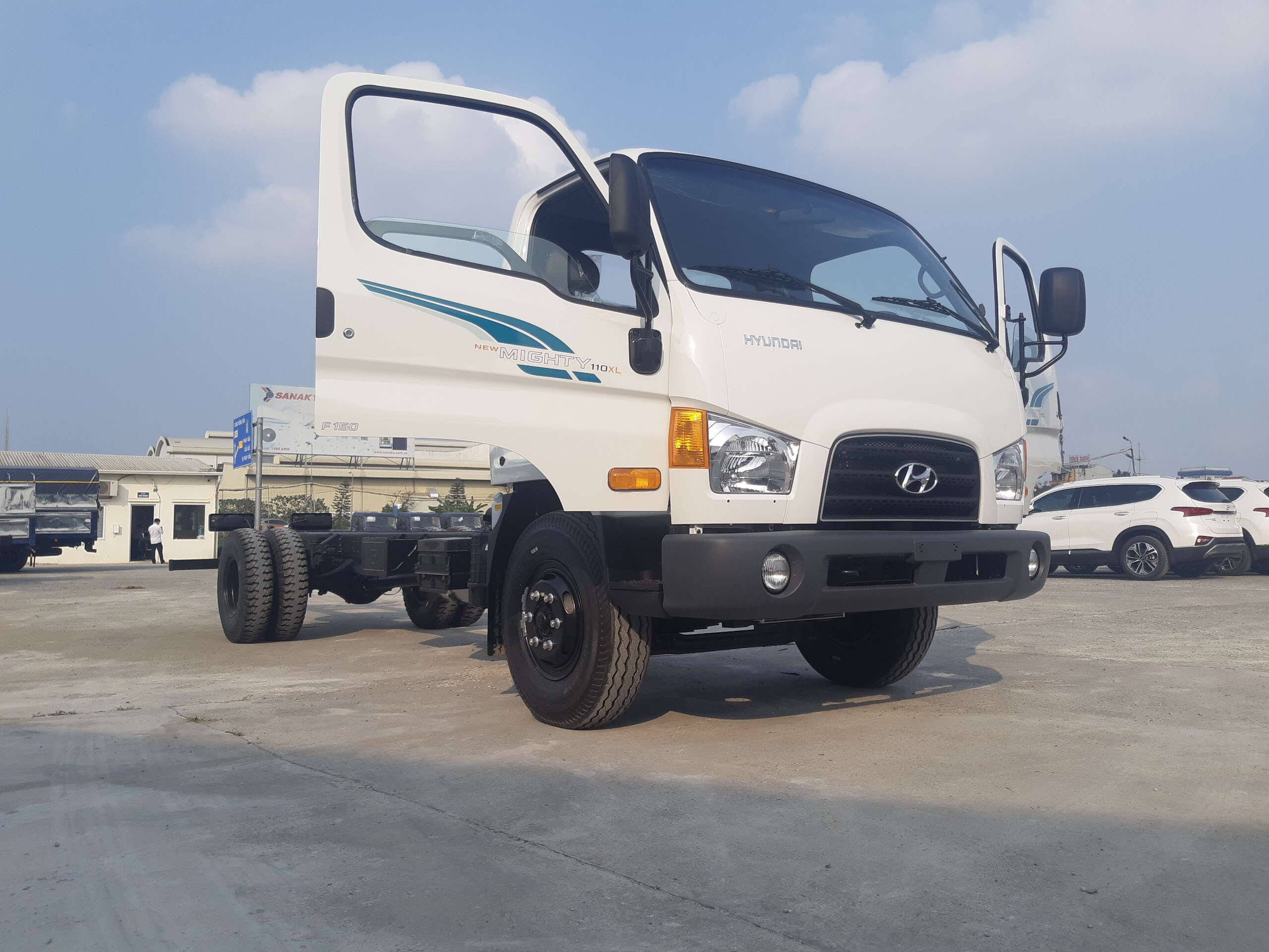 Xe tải 110XL chassi