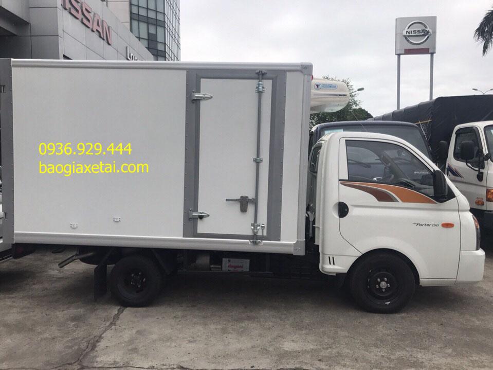 Xe tải đông lạnh 1.5 tấn Hyundai H150