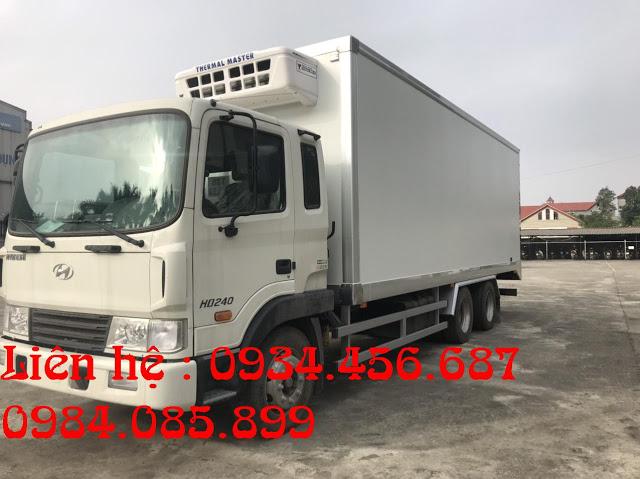 Hyundai HD240 thùng đông lạnh