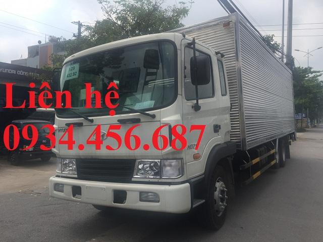 Hyundai HD240 thùng kín inox