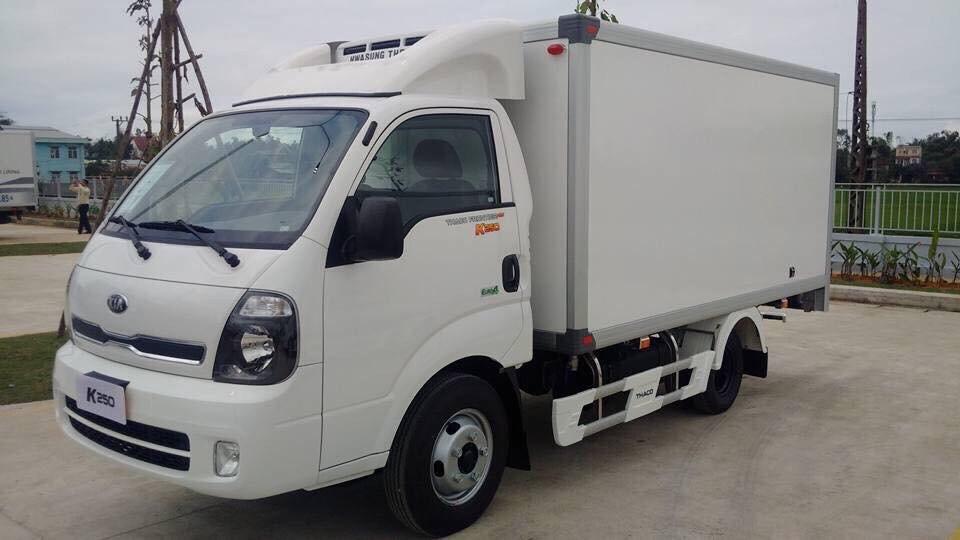 Xe tải K200 thùng đông lạnh