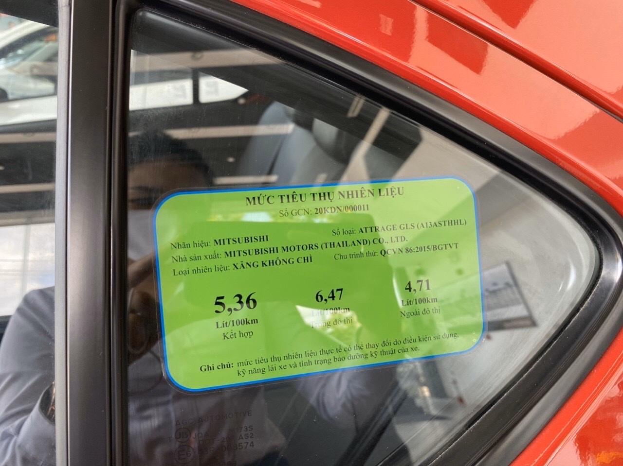Xe Attrage 2022 tiết kiệm nhiên liệu