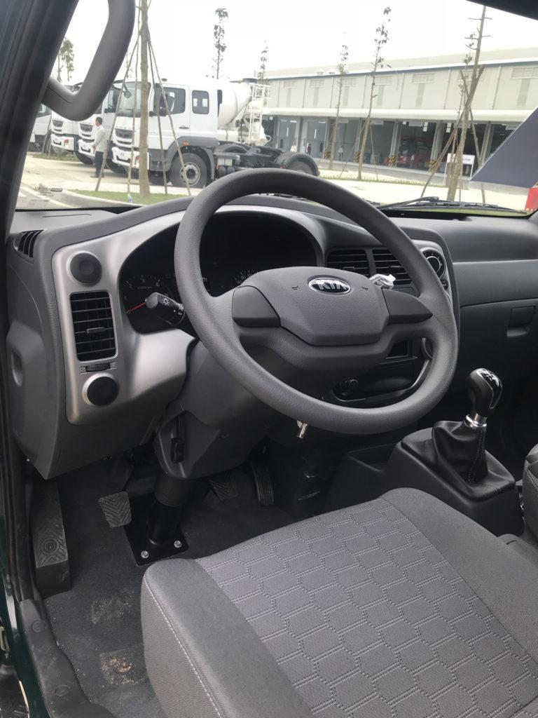 Xe tải Kia K250 nội thất nguyên bản