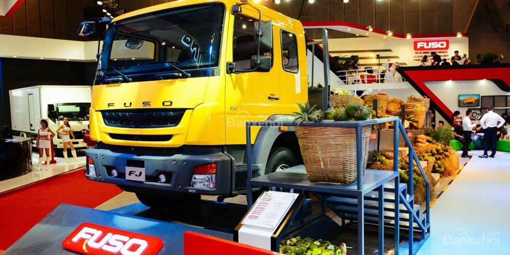 xe tải fuso fj24r thùng lửng