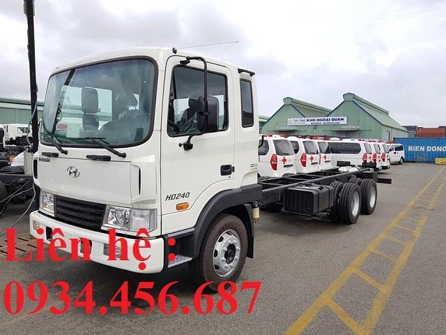Xe tải Hyundai HD240 3 chân