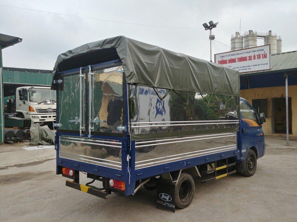 Xe tải thùng bạt H150 Thành Công